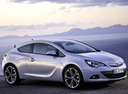 Фото авто Opel Astra J [рестайлинг], ракурс: 315 цвет: белый