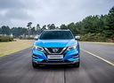 Фото авто Nissan Qashqai 2 поколение [рестайлинг],  цвет: голубой