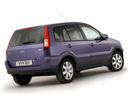 Фото авто Ford Fusion 1 поколение [рестайлинг], ракурс: 225 цвет: фиолетовый