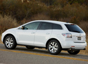 Фото авто Mazda CX-7 1 поколение, ракурс: 135 цвет: белый