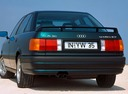Фото авто Audi 80 8A/B3, ракурс: 135 цвет: зеленый