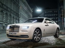 Фото авто Rolls-Royce Wraith 2 поколение, ракурс: 45 цвет: белый