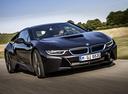 Фото авто BMW i8 I12, ракурс: 315 цвет: серый