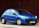 Фото авто Peugeot 206 2 поколение, ракурс: 315