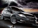 Фото авто ВАЗ (Lada) Granta 1 поколение, ракурс: 315 цвет: черный