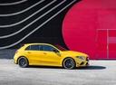 Фото авто Mercedes-Benz A-Класс W177/V177, ракурс: 270 цвет: желтый