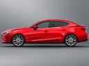 Фото авто Mazda 3 BM [рестайлинг], ракурс: 90 - рендер цвет: красный