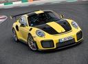 Фото авто Porsche 911 991 [рестайлинг], ракурс: 315 цвет: желтый