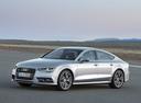 Фото авто Audi A7 4G [рестайлинг], ракурс: 45 цвет: серебряный