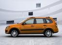 Фото авто ВАЗ (Lada) Kalina 2 поколение, ракурс: 90 цвет: оранжевый