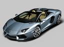 Фото авто Lamborghini Aventador 1 поколение, ракурс: 45 цвет: серый