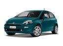 Фото авто Fiat Punto 3 поколение [2-й рестайлинг], ракурс: 45 цвет: бирюзовый