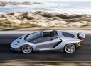 Фото авто Lamborghini Centenario 1 поколение, ракурс: 90 цвет: серебряный