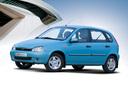 Фото авто ВАЗ (Lada) Kalina 1 поколение, ракурс: 45 цвет: бежевый