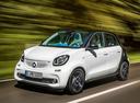Фото авто Smart Forfour 2 поколение, ракурс: 45 цвет: белый