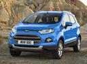 Фото авто Ford EcoSport 2 поколение, ракурс: 45 цвет: голубой