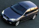 Фото авто Ford Focus 1 поколение [рестайлинг], ракурс: сверху цвет: серый