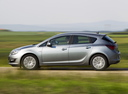 Фото авто Opel Astra J [рестайлинг], ракурс: 90 цвет: серебряный