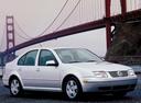 Фото авто Volkswagen Jetta 4 поколение, ракурс: 315 цвет: белый