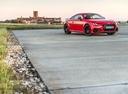 Фото авто Audi TT 8S [рестайлинг], ракурс: 315 цвет: красный