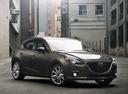 Фото авто Mazda 3 BM, ракурс: 315 цвет: серый