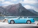 Фото авто Rolls-Royce Dawn 1 поколение, ракурс: 90 цвет: голубой