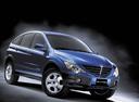 Фото авто SsangYong Actyon 1 поколение, ракурс: 315 - рендер цвет: синий