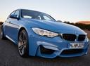 Фото авто BMW M3 F80, ракурс: 315 цвет: голубой
