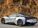 Фото авто BMW i8 I12, ракурс: 135 цвет: серебряный