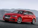 Фото авто Audi S3 8V, ракурс: 45 цвет: красный