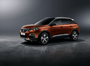 Фото авто Peugeot 3008 2 поколение, ракурс: 90 - рендер цвет: бронзовый