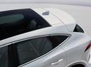 Фото авто Jaguar E-Pace 1 поколение, ракурс: боковая часть цвет: белый