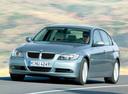 Фото авто BMW 3 серия E90/E91/E92/E93, ракурс: 45 цвет: голубой