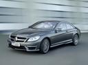 Фото авто Mercedes-Benz CL-Класс C216 [рестайлинг], ракурс: 45 цвет: серый