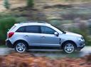 Фото авто Opel Antara 1 поколение [рестайлинг], ракурс: 270 цвет: бежевый