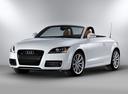 Фото авто Audi TT 8J [рестайлинг], ракурс: 45 цвет: белый