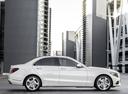 Фото авто Mercedes-Benz C-Класс W205/S205/C205, ракурс: 270 цвет: белый