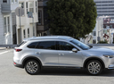 Фото авто Mazda CX-9 2 поколение, ракурс: 270 цвет: серый