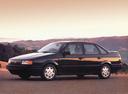 Фото авто Volkswagen Passat B3, ракурс: 90 цвет: черный