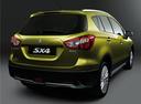 Фото авто Suzuki SX4 2 поколение, ракурс: 225 цвет: салатовый