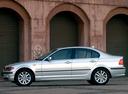 Фото авто BMW 3 серия E46 [рестайлинг], ракурс: 90 цвет: серебряный