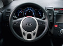 Фото авто Kia Venga 1 поколение, ракурс: рулевое колесо