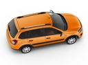 Фото авто ВАЗ (Lada) Kalina 2 поколение, ракурс: сверху цвет: оранжевый