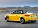 Фото авто Audi TT 8S [рестайлинг], ракурс: 135 цвет: желтый