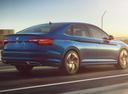 Фото авто Volkswagen Jetta 7 поколение, ракурс: 225 цвет: синий
