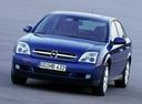 Фото авто Opel Vectra C, ракурс: 45 цвет: синий