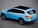Фото авто Hyundai Santa Fe DM, ракурс: сверху цвет: голубой