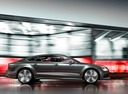 Фото авто Audi RS 7 4G, ракурс: 270 цвет: серый