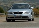 Фото авто BMW 5 серия E60/E61,  цвет: серебряный
