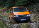 Фото авто Volkswagen Transporter T6, ракурс: 315 цвет: оранжевый